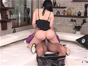 Aletta Ocean - My superior's wife is so beautiful and insatiable