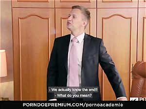 porn ACADEMIE Lana Rhoades likes smashing French manmeat