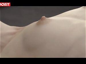 LETSDOEIT - Alecia Fox desire pummeled By ample weenie