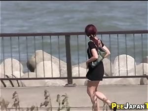 japanese teenager piss public