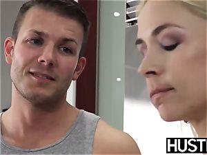 provocative mummy Sarah Vandella boinked with boner after blowage