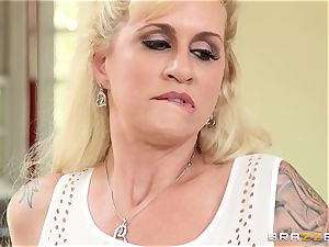 ultra-kinky stepmom Ryan Conner is packed by her stepson