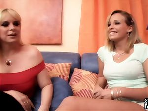 SEXYMOMMA - cool stepmom scissors cooter with tasty teenage