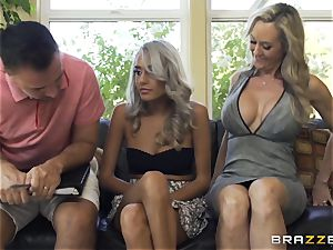 nanny Janice Griffith joins Brandi love for a pummeling