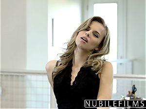 NubileFilms - Office mega-slut drilled Till She splatters