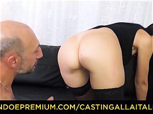 casting ALLA ITALIANA - dirty newbie assfuck audition