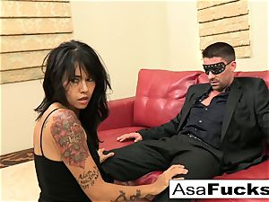 Asa likes to have herself some hardcore fun