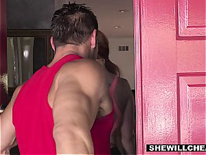 SheWillCheat - warm bodacious wife humping private Trainer