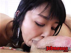 hairy japanese Marica Hase porked stiff