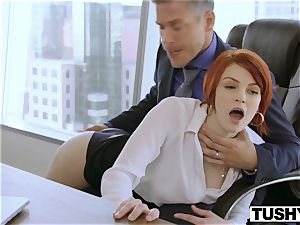 TUSHY Bree Daniels very first buttfuck orgy scene