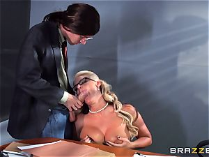 Phoenix Marie getting splattered with spunk by Danny D