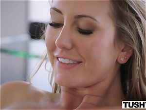 TUSHY Brett Rossi's first off the hook rectal!