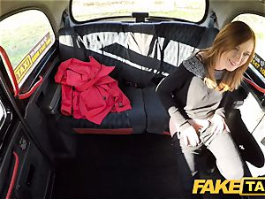 fake cab Linda tastey humped by drivers ginormous knob