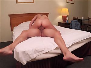 Brianna brown caught on spy cam as she penetrates