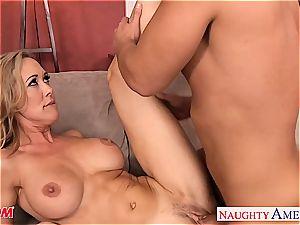 blondie Brandi enjoy has excellent boobs and luvs large prick