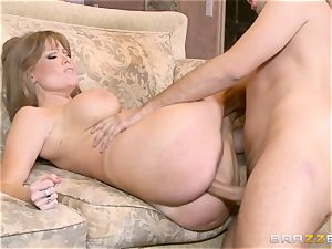 cougar Darla whip face frosted in jizm