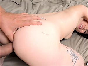 Ally style drilled in her wonderful anus and creamed