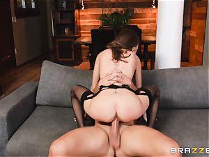 splendid Riley Reid assfuck tear up with hung super-naughty Keiran
