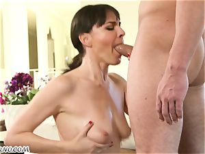 My new sexy neighbor Dana Dearmond came to me to get habitual