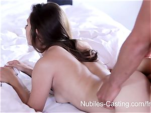 Nubiles casting - gonzo pornography audition for newcummer