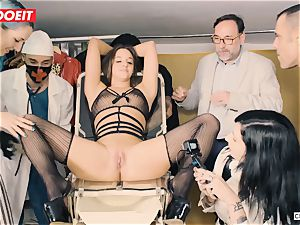 LETSDOEIT - Amirah Is manhandled at her first-ever bondage & discipline party