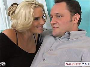 hot wife Phoenix Marie gets pinkish cunt drilled