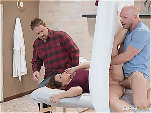 insane wifey with massive natural funbags loves getting inserted in a cheating action