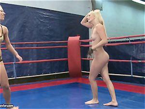 Nicky bare honey smooching her killer rival