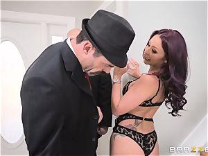 pounding manhood deep into Monique Alexander