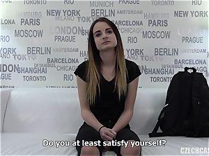 Czech female audition Dominika