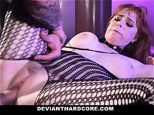 DeviantHardcore - hot red-haired Gets hatch poked