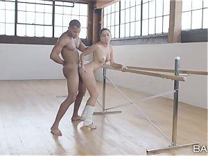 big black cock craving ballerina Melissa Moore