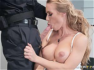 raunchy oral interrogation with Nicole Aniston