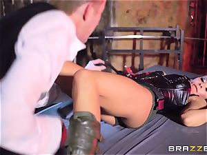 Madison Ivy is speared by a big stiffy