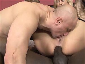 blonde interracial anal invasion boinked munching cum vulva pound
