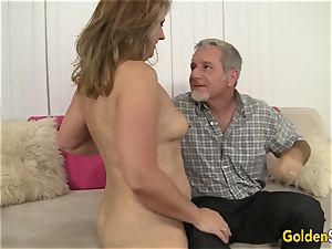 super-hot to Trot mummy Catrina Costa Takes a large prick