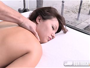 Roxy Dee aroused with a magic wand groans quitely