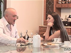 DADDY4K. bang-out with aged guy is what ultra-cutie needed to attempt in her life
