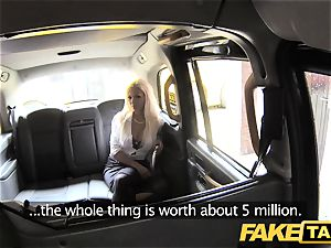 faux taxi steamy estate agent gets creampied