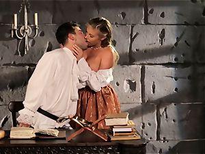Fairytale babe Samantha Saint gets to boink her prince