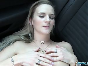 Public Agent Katy bud gets her taut cootchie fucked