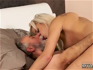 kinky nubile humps older boy Surprise your girlplayfellow and she will smash with your dad