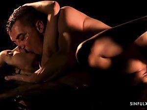 sensuous massage turns into a sensuous plow