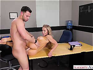 The greatest teacher Nicole Aniston wants meatpipe for her blessing