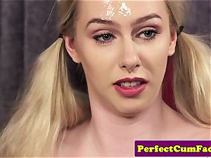 big-chested cum therapist tit banging for facial cumshot