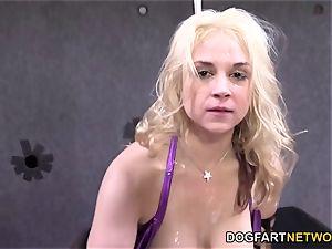 Sarah Vandella Gets nailed By a few ebony men