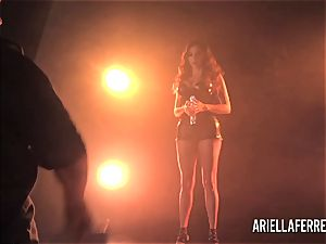 Behind the episodes erotic shoot with Ariella Ferrera