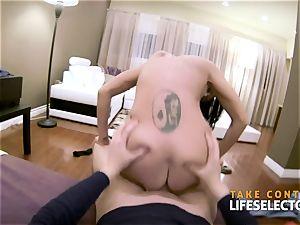 Ava Addams - gigantic orbs IN activity