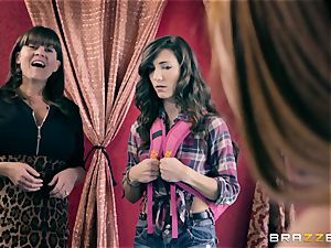 lesbian joy with Alexa Nova and Ruby Sparx